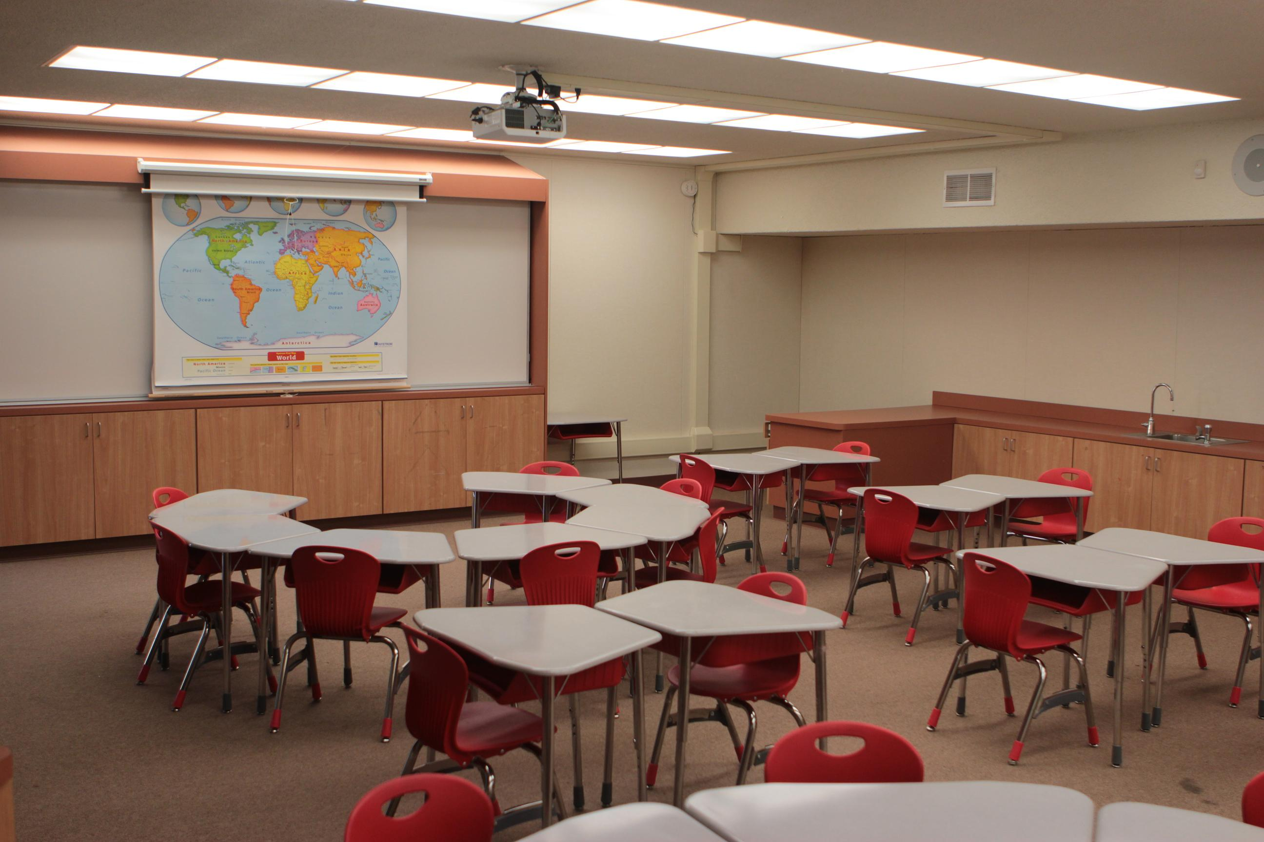 Classroom Furniture : Facility enlighten enrichment school after